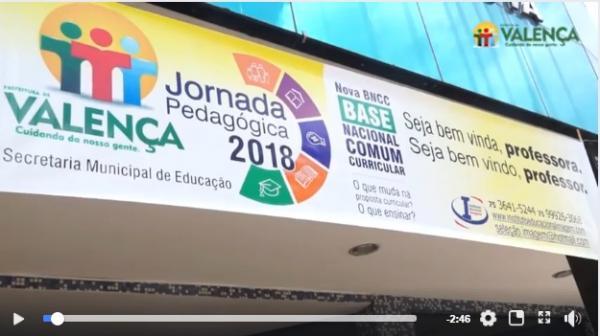 Valença: Jornada Pedagógica 2018