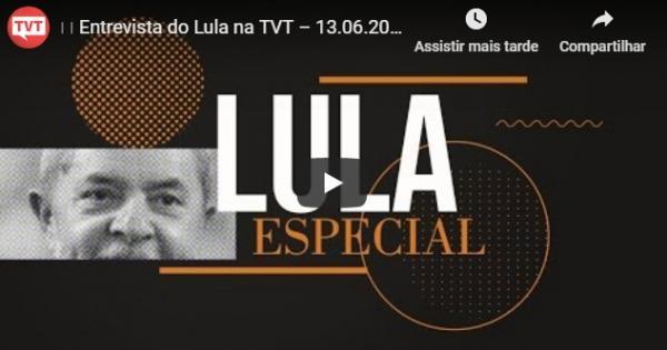 Lula e a VazaJato: a verdade revelada