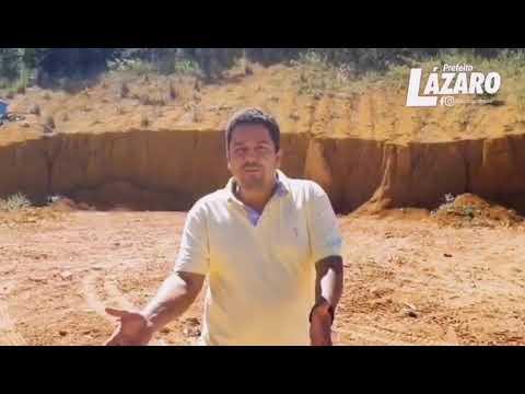 Prefeito Lázaro Andrade esclarece a população a respeito da coleta de Lixo em Teolândia.
