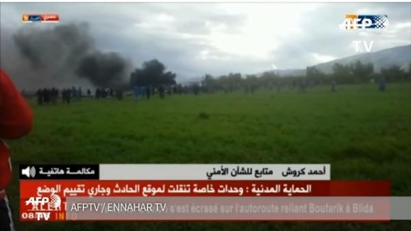 Queda de avião militar na Argélia deixa 257 mortos