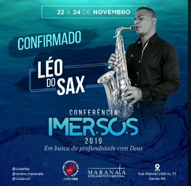 Conferência: Imersos 2019 - Realização Jovens da Maranata.