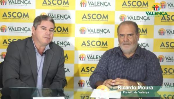 Prefeito Ricardo Moura fala um pouco sobre os últimos acontecimentos.